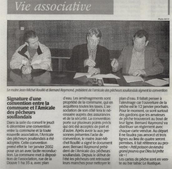 2001 - La presse en a parlé