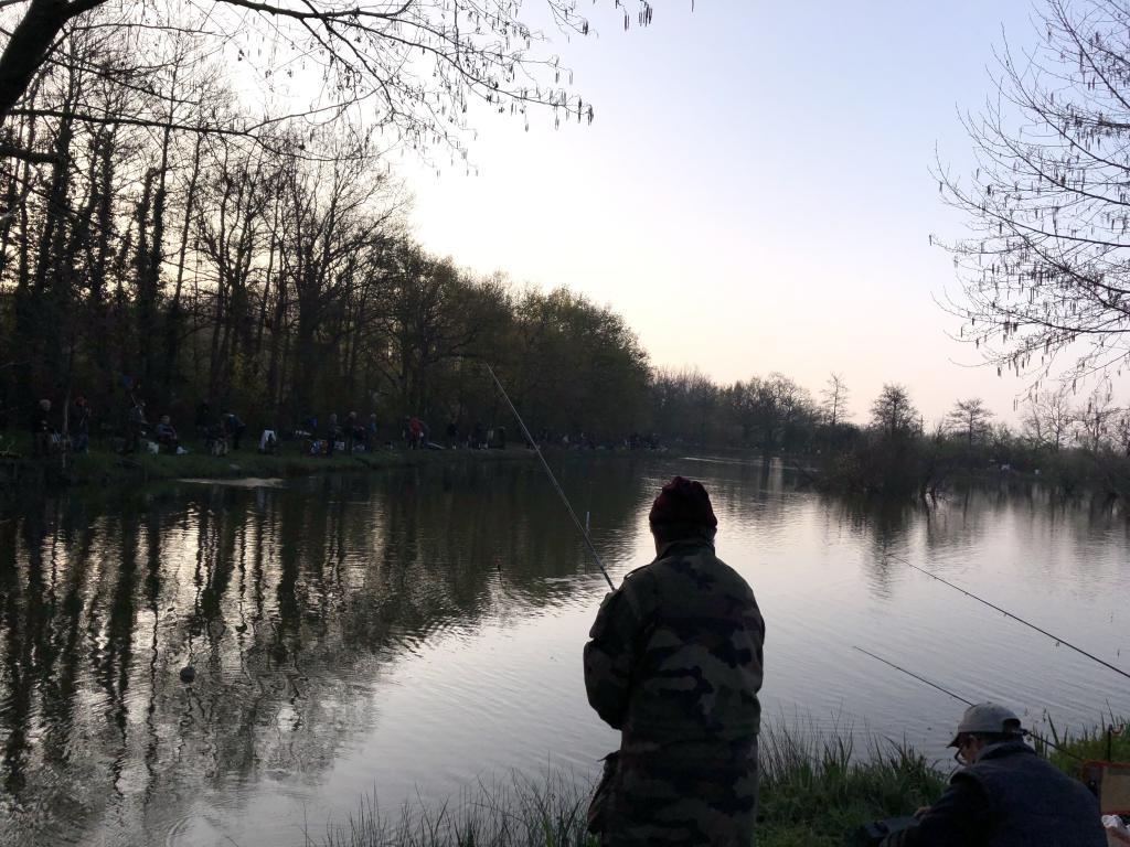 L'heure est arrivée pour la pêche