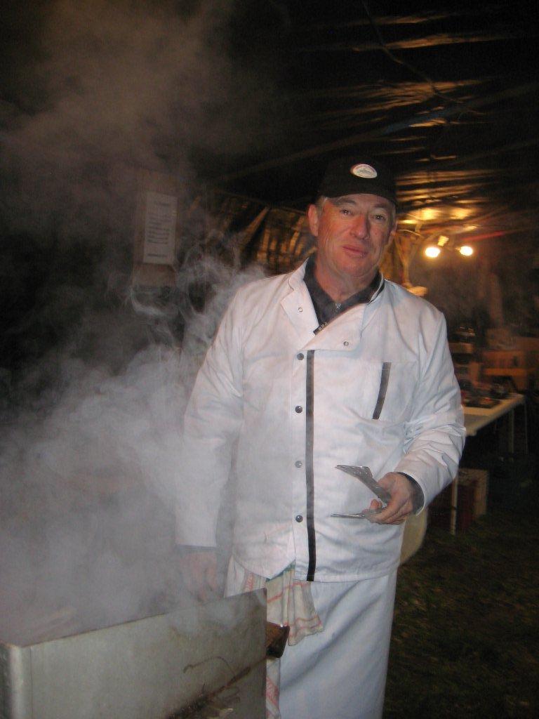 """Philippe, notre chef """"presque"""" étoilé allume son barbecue"""