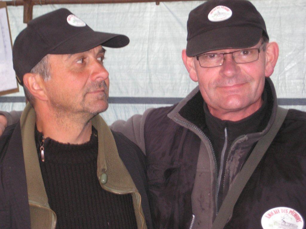 Yannick et Coincoin, deux piliers du bureau